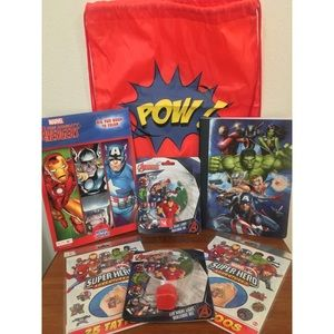The Avengers Back to School Accessory Bundle